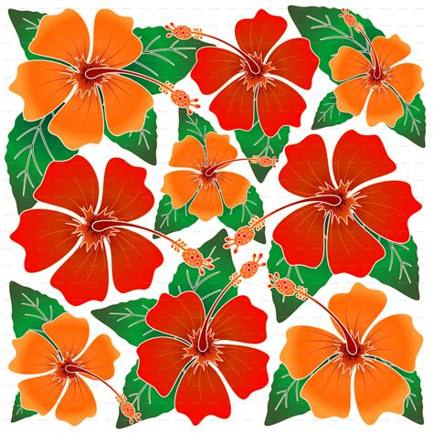 pattern batik png hibiscus batik pattern by bluedarkat graphicriver