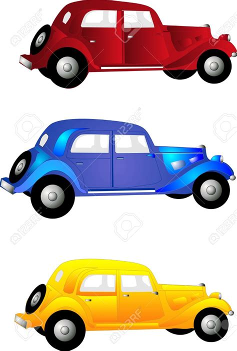 cars clip fashioned cars clipart 38