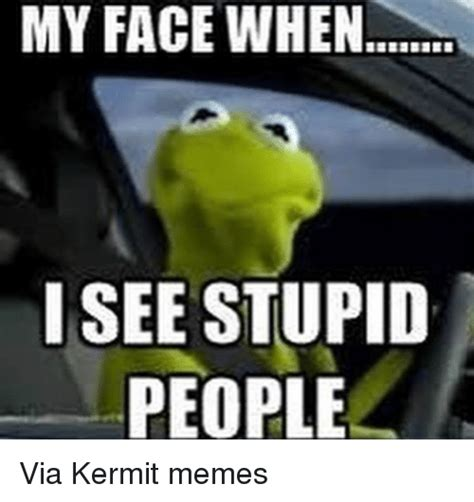 Kermit Meme My Face When - funny kermit the frog memes of 2017 on sizzle