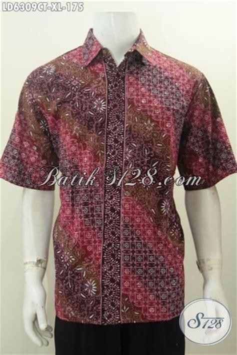desain baju batik lengan pendek jual kemeja batik solo lengan pendek warna bagus kain