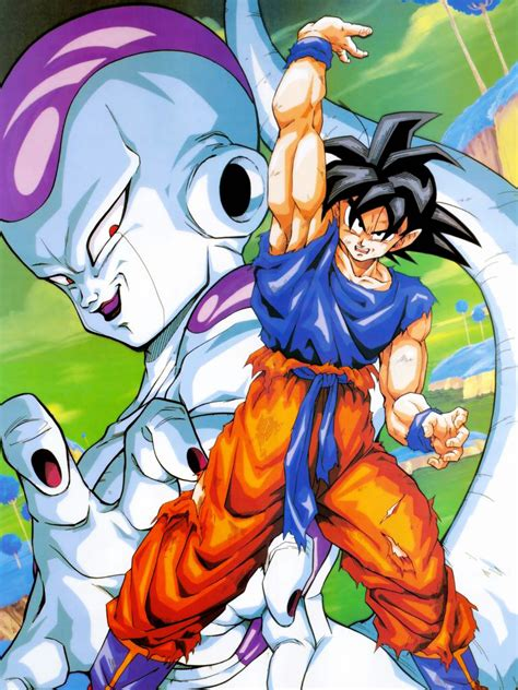 imagenes de goku vs frezer saga de freezer dragon ball wiki fandom powered by wikia