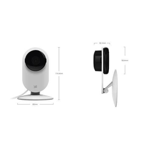Xiaomi Xiaoyi Smart Cctv With Nightvision Black original xiaomi xiaoyi ants vision 720p smart