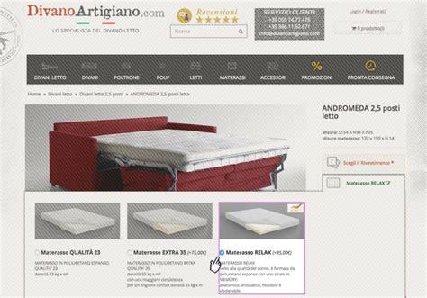 scelta materasso memory divani letto con materasso memory ergonomico di qualit 224
