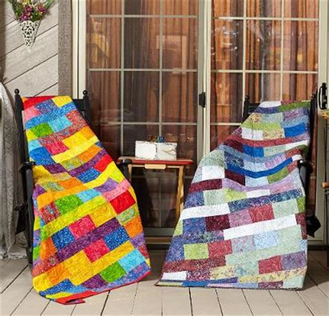 brick wall quilt kit learn your way to awesome