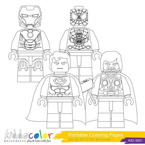 lego superhero coloring page printable hero lego coloring pages hero lego digital