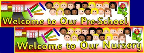 nurserypre school display banners sb sparklebox