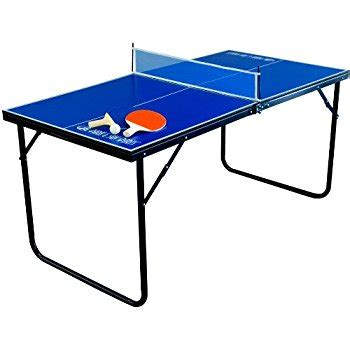 folding ping pong table amazon com park sun sports indoor outdoor mini table