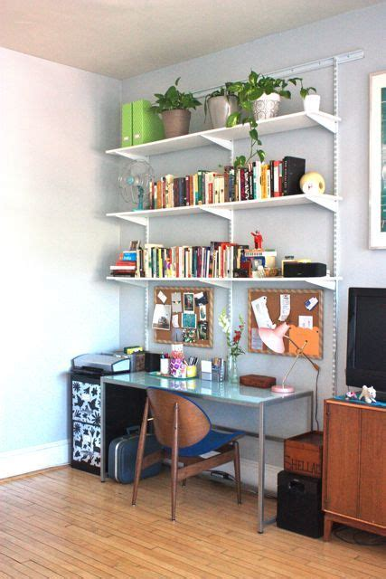 Small Desk With Shelves by S Personalized Mount Pleasant Flat Feels Like Home