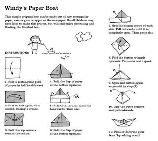 How To Make Paper House Boat - 17 best images about pirate on