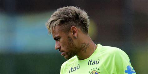 neymat blond brazilian national neymar return to international football