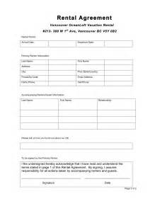 Free Simple Lease Agreement Template 6 Free Rental Agreement Templates Excel Pdf Formats