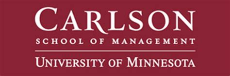 Carlson School Of Business Mba by Vip Logos Business Education Jam