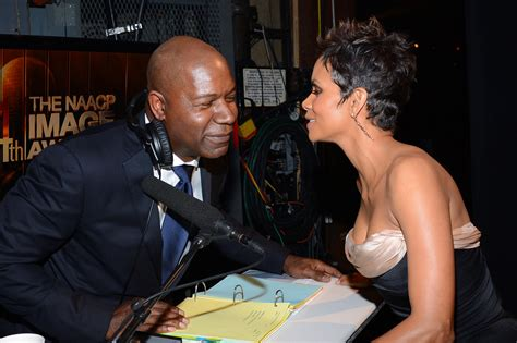 dennis haysbert lynn griffith 44th naacp image awards backstage and audience zimbio