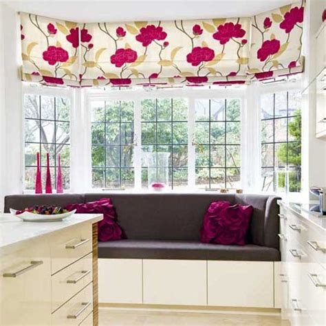 kitchen bay window curtains bay window seats for the modern home