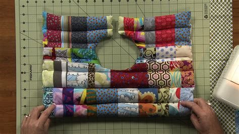 Patchwork Sewing Projects - easy patchwork sewing project rice pack