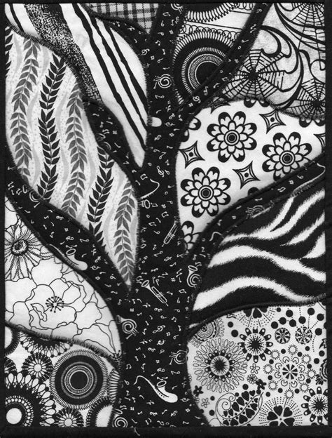 black and white tree pattern zentangles again ramblings from elf s quiltorium
