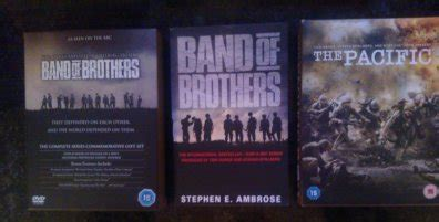 Band Of Brothers Dvd Box Set Collection Koleksi band of brothers the pacific dvd box sets book hbo drama