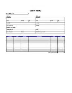 Debit Credit Format Excel Debit Memo Template Sle Form Biztree