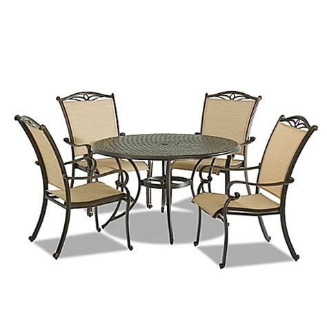 Verona 5 Set buy klaussner verona 5 outdoor dining set from bed
