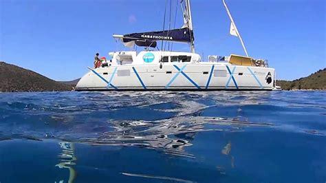 sailing greece video sailing greece on a co working catamaran 1m video youtube