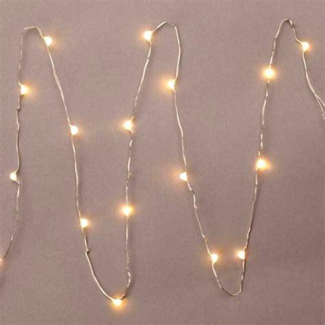 Everlasting Glow Led Micro Light String 18 Warm White 36 Everlasting Glow Led Light Strings