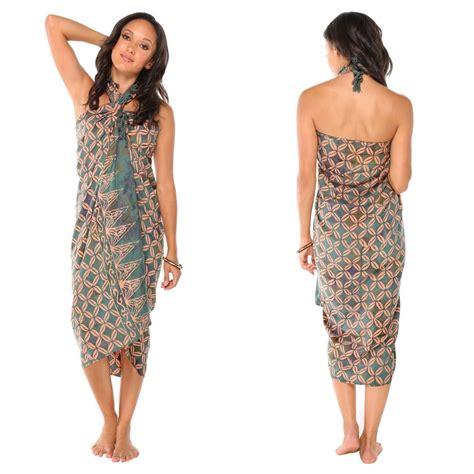 Design Of Batik Sarong   traditional batik design top quality sarong in green