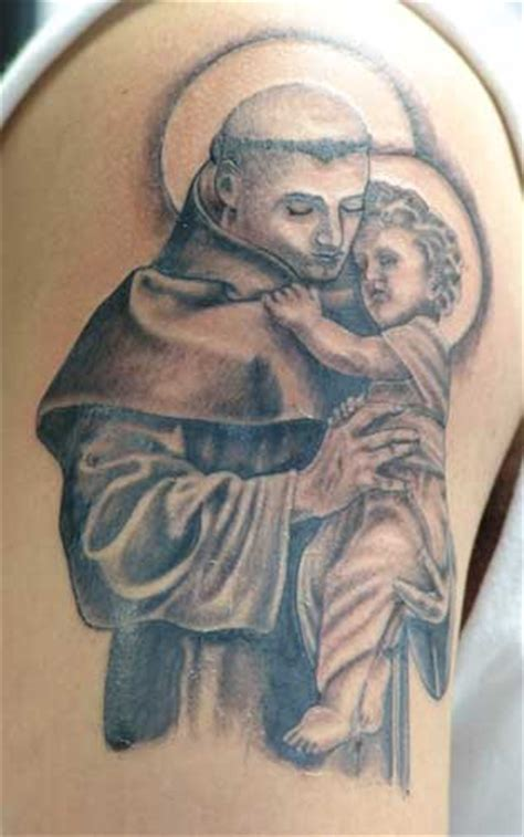anthony tattoo designs st anthony pictures to pin on tattooskid