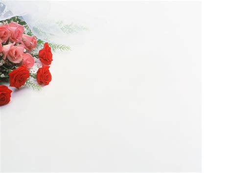 theme powerpoint rose free a bouquet of roses backgrounds for powerpoint