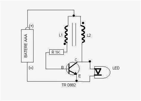 penjelasan transistor bd139 skema joule thief