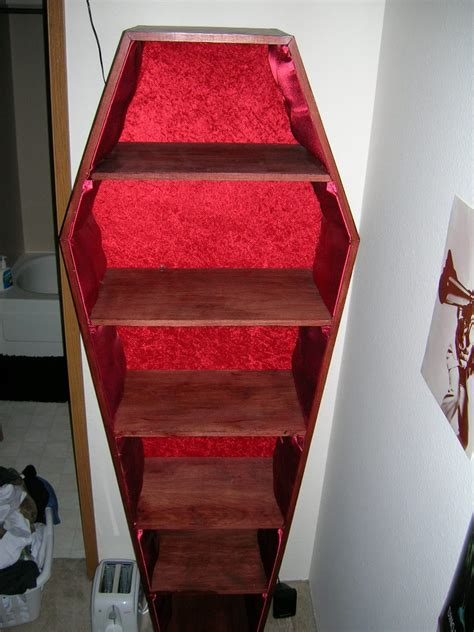 librero ataud coffin bookshelf by sneakypenguin on deviantart