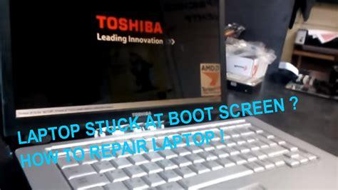 solving laptop stuck at boot screen diagnostics and repair