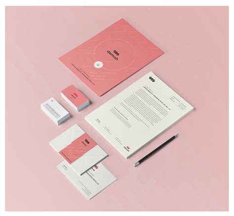 free mock up 16 stationary mock up psd free images free mockup letter letter business cards