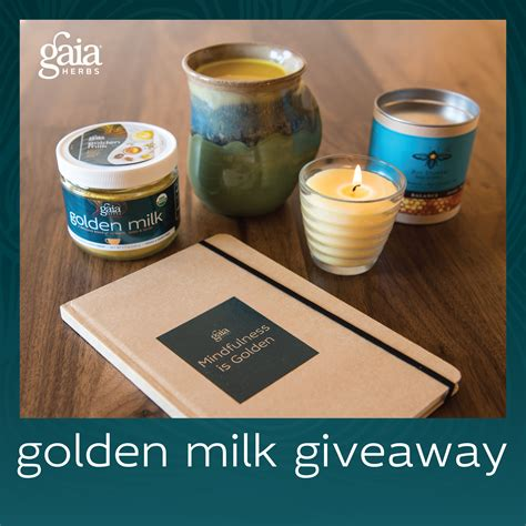 Milk Giveaway - golden milk giveaway on mindbodygreen