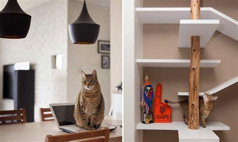 Strutture Per Gatti by Idee Geniali Dai Designer Per Condividere I Mobili Con I