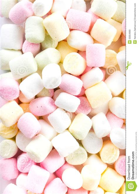 tiny color a pile of small colored puffy marshmallows may use as