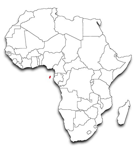 africa political map blank africa map