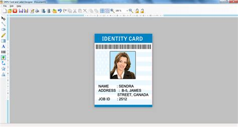 id card design for mac free label maker software photo id card creator flyer leaf