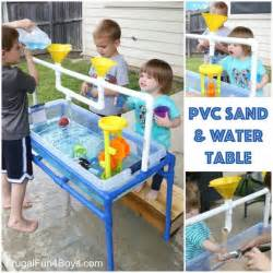 how to make a pvc pipe sand and water table home design
