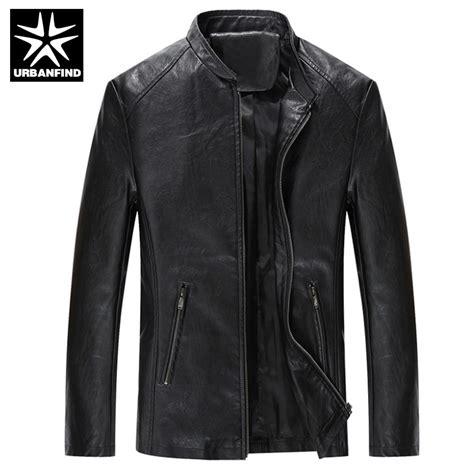 Jaket Blazer Pria Coolmen Black aliexpress buy urbanfind brand fashion quality leather jackets size m 4xl soft pu