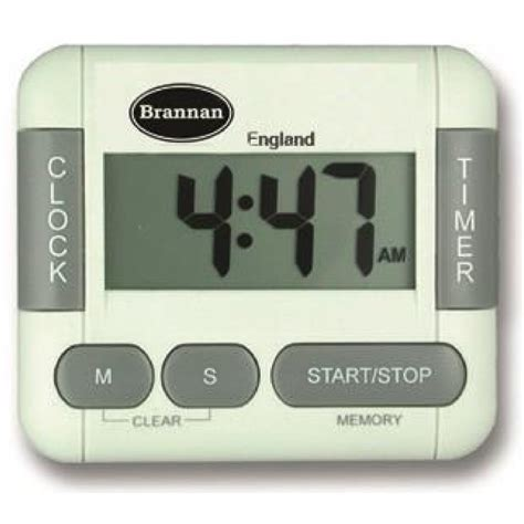 Kitchen Alarm Clock count and up digital timer and clock brannan