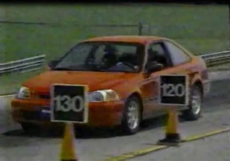 1996 honda civic hx 187 1996 honda civic hx coupe test drive