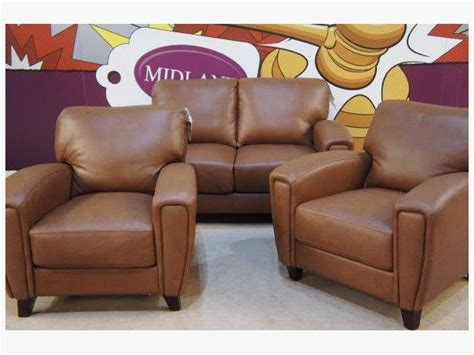 Ex Display Leather Sofas Ex Display Scs Real Leather Sofa Brownhills Wolverhton