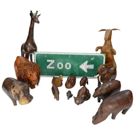 ottoman zoo 14 piece zoo by dimitri omersa for abercrombie and fitch