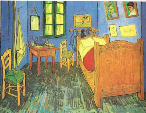 vangoghs bedroom vincent van gogh art