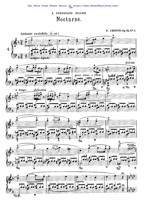 chopin nocturne op 62 no 1 piano tutorial youtube free sheet music for nocturnes op 15 chopin fr 233 d 233 ric