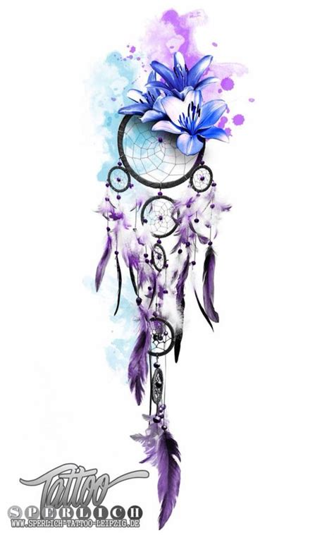 watercolor dreamcatcher tattoo dreamcatcher watercolor tattoos the