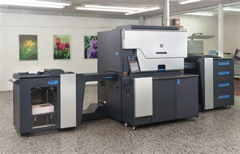 Printer Hp Indigo 3550 hp press kit hp at graph expo 2011