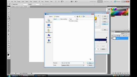 photoshop cs5 gradient tool tutorial photoshop cs5 creating gradients youtube