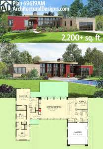 contemporary homes floor plans best 25 modern house plans ideas on modern