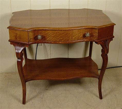 custom made oak tables custom made antique oak library table